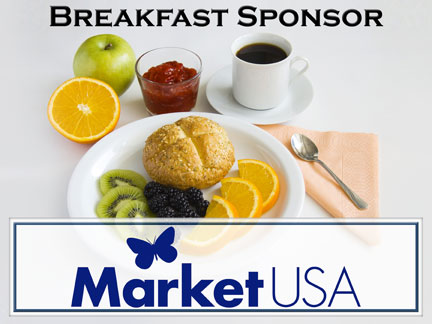 Example of Breakfast Sponsor Sign :: Hole In One Coverage