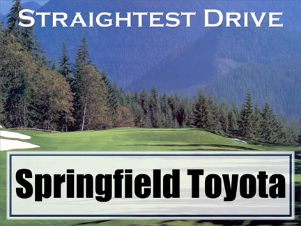 Our Straightest Drive Contest Sign :: Hole In One Coverage