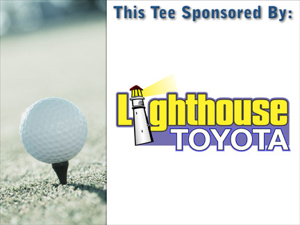 An Image of Tournament Sponsorship Sign Template E :: Hole In One Contest